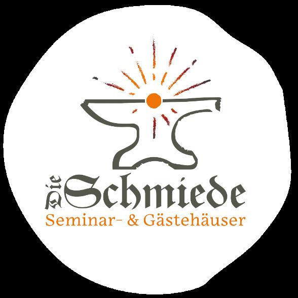 """Logo """"Die Schmiede - Seminar- und Gästehäuser"""""""