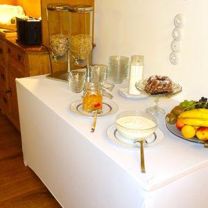 Die Schmiede Frühstücksraum